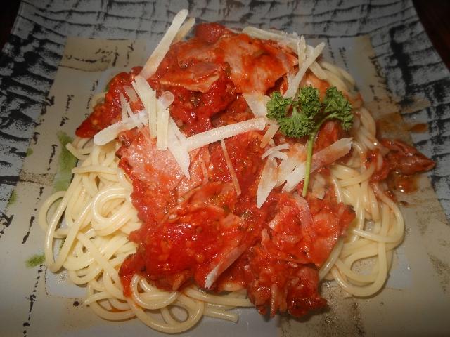 Spaghettis a la calabraise toute la cuisine que j 39 aime - Toute la cuisine que j aime ...