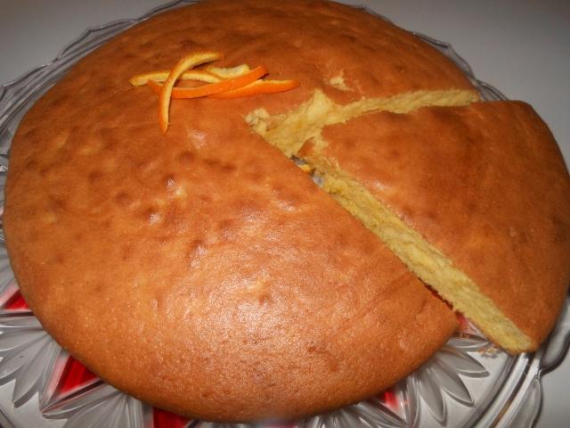 Gateau leger a l orange toute la cuisine que j 39 aime - Toute la cuisine que j aime ...
