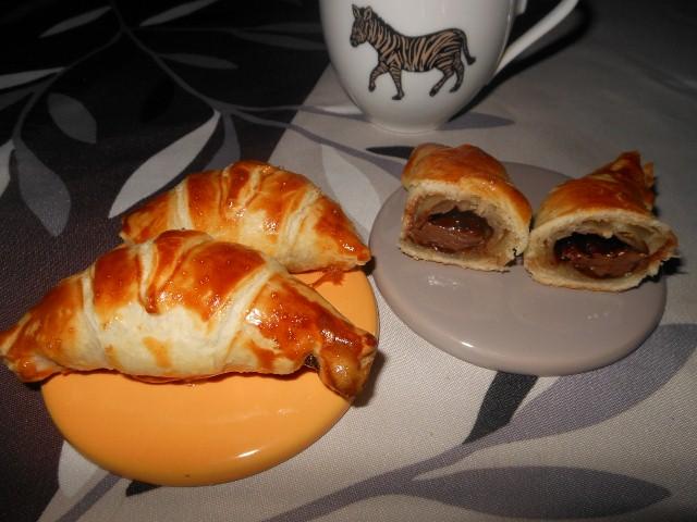 Croissants choco noisette toute la cuisine que j 39 aime - Toute la cuisine que j aime ...